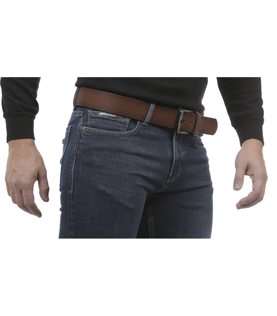 Cиние джинсы Armani Exchange 6827 + ремень