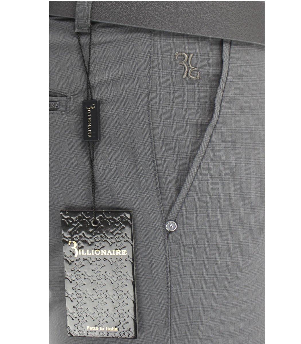 Серые брюки Billionaire 7637