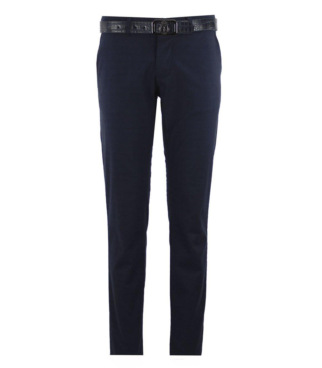 Темно-синие брюки Billionaire 7637