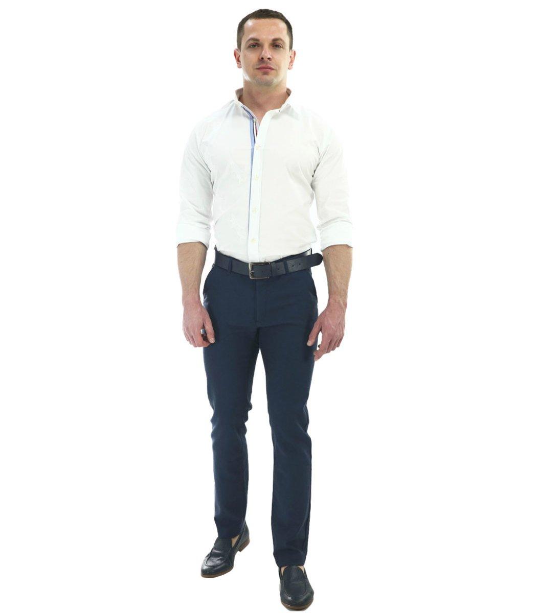 Темно-синие брюки Giorgio Armani 7647