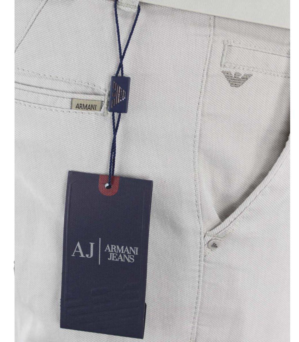 Светло-серые брюки Giorgio Armani 7647