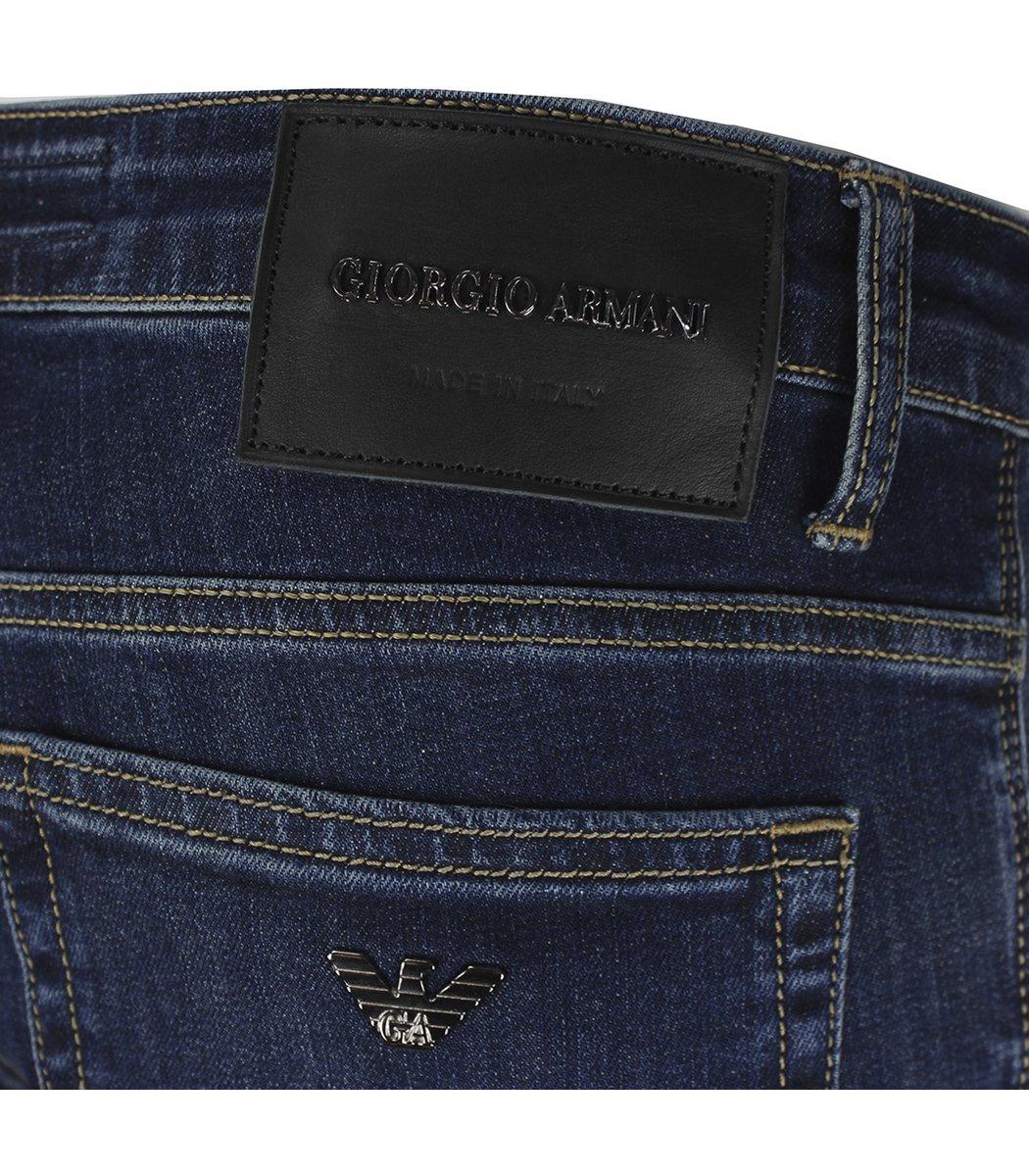 Темно-синие джинсы Giorgio Armani 6817