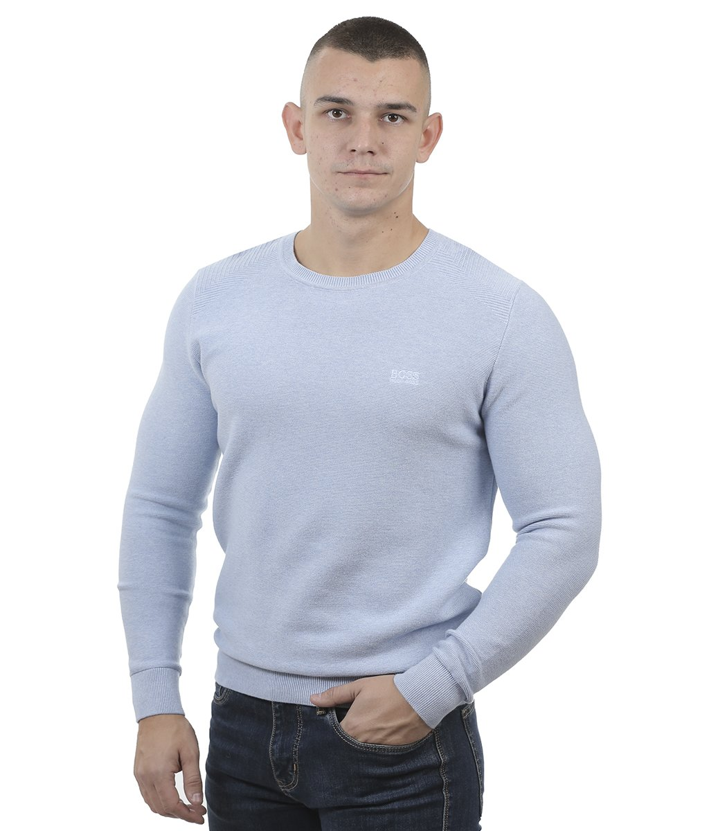 Голубой джемпер Hugo Boss JB1