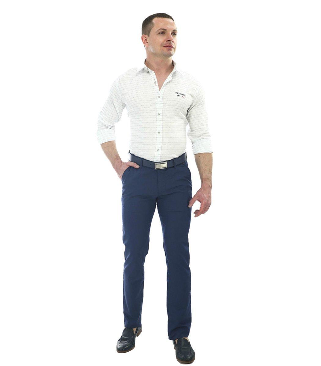 Темно-синие брюки Hugo Boss 7646