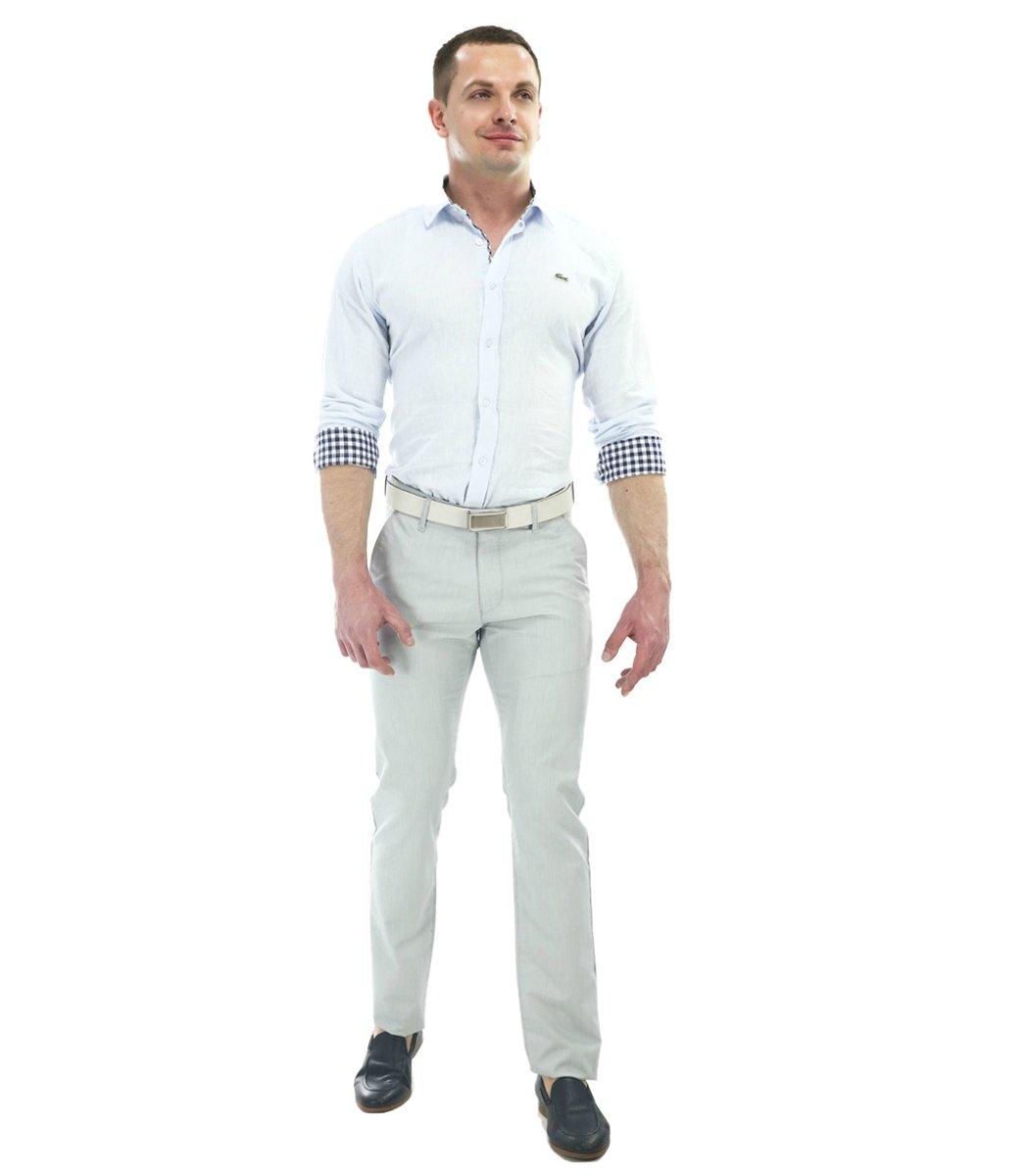 Серые брюки Hugo Boss 7646