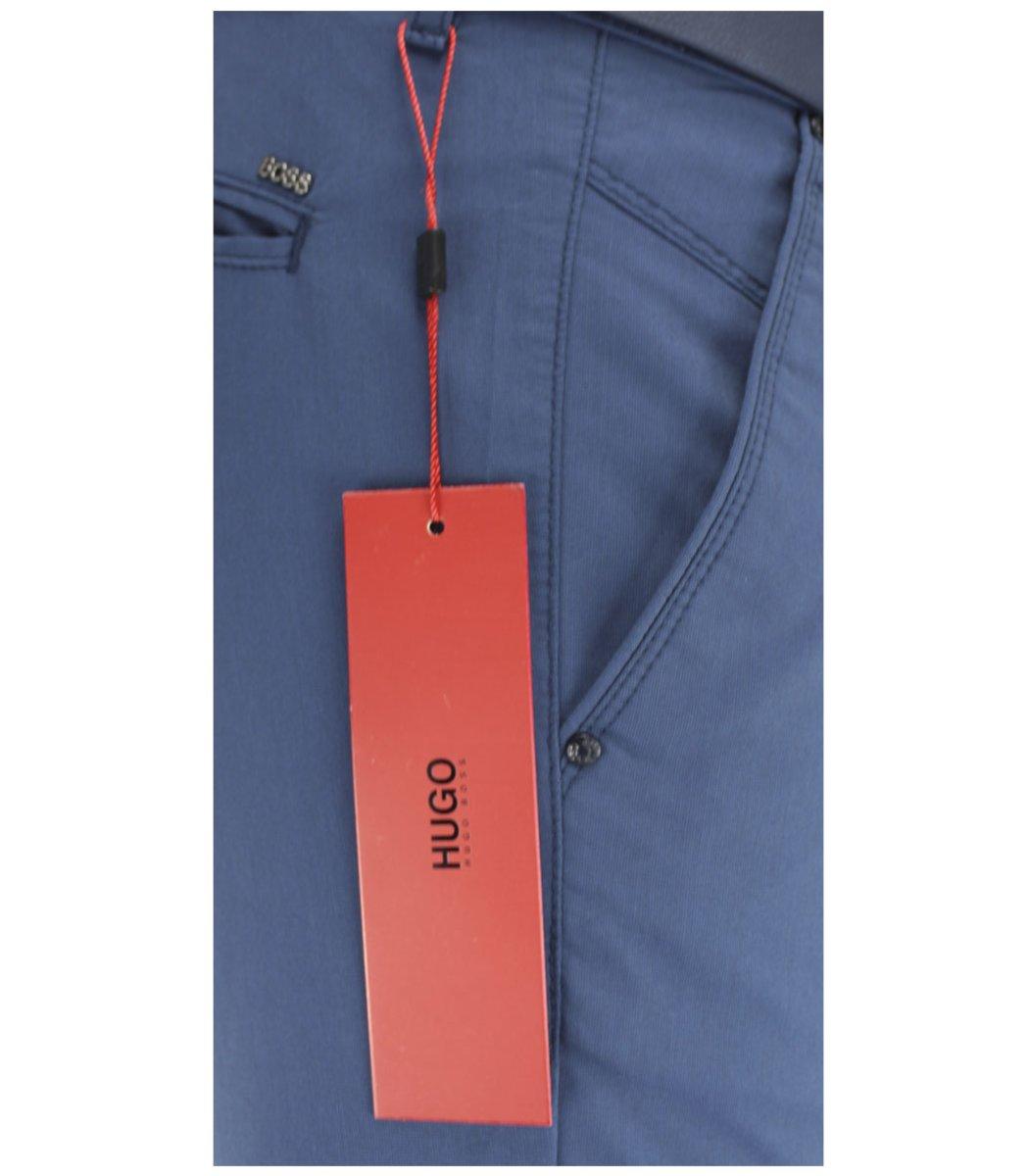 Синие брюки Hugo Boss 7646