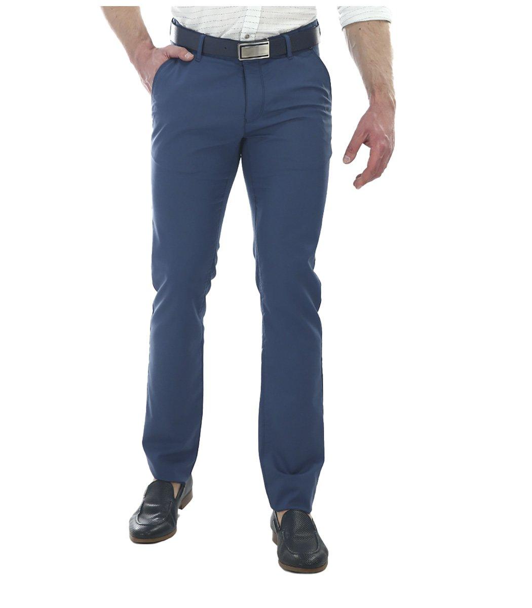 Синие брюки Hugo Boss 7646 - Синий - Вид 2