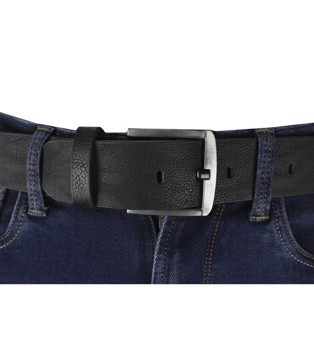 Темно-синие джинсы Paul&Shark 6828 + черный ремень
