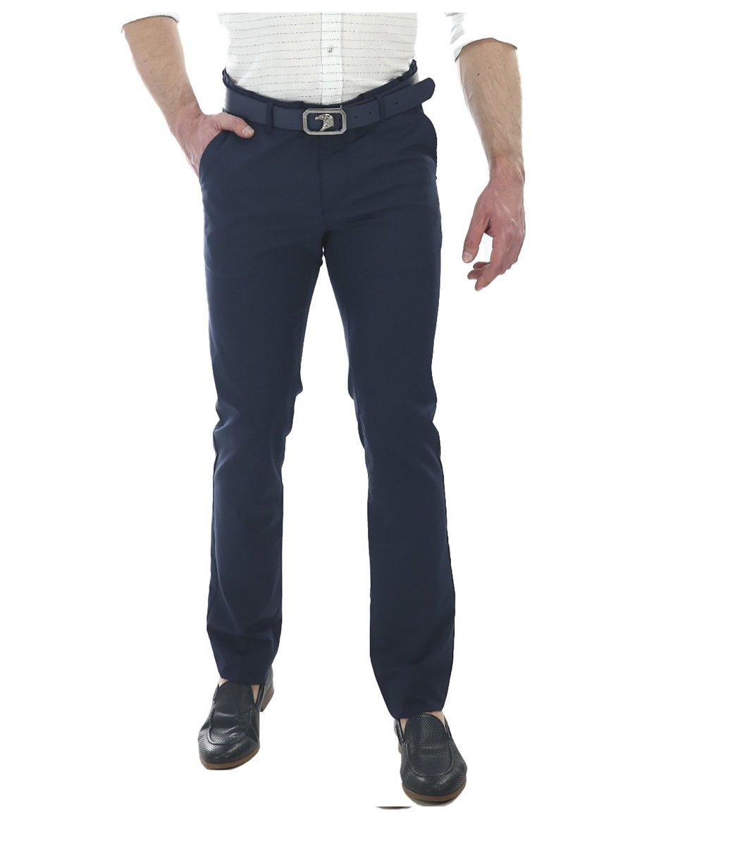 Темно-синие брюки Stefano Ricci 7659