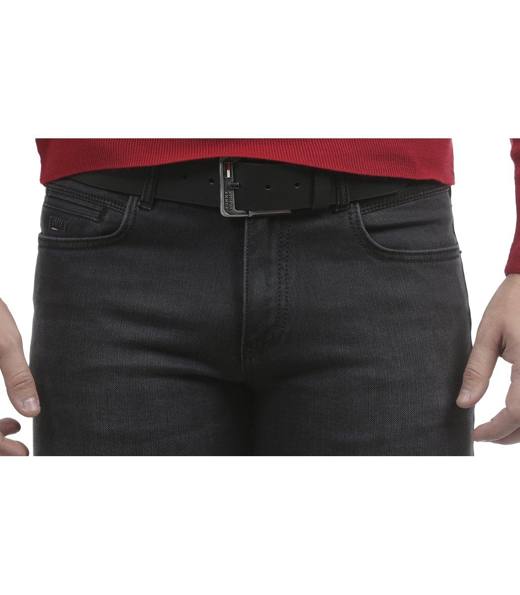 Черные джинсы Tommy Hilfiger 7737-5 +ремень