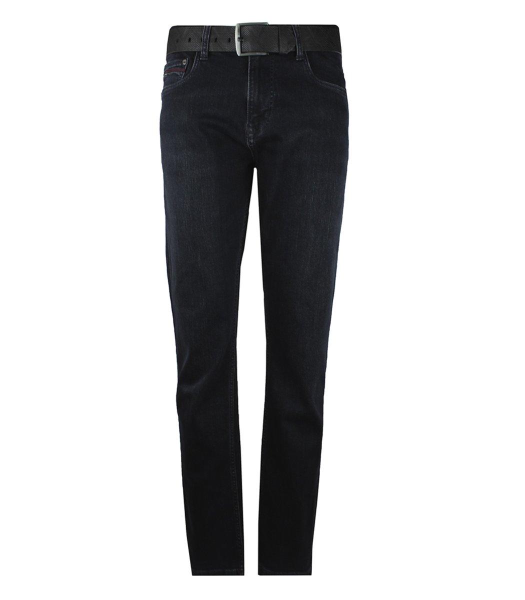 Черные джинсы Tommy Hilfiger 6850 + ремень