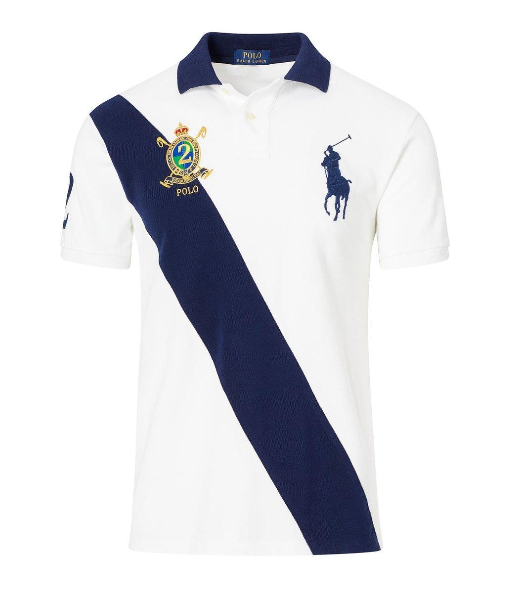 Мужская белая футболка поло Ralph Lauren R6