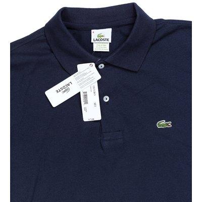 Мужская темно-синяя футболка поло Lacoste