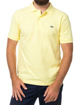 Желтая футболка поло Lacoste
