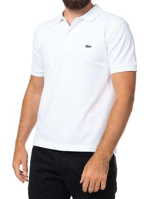 Мужская белая футболка поло Lacoste  - белый - Вид 2