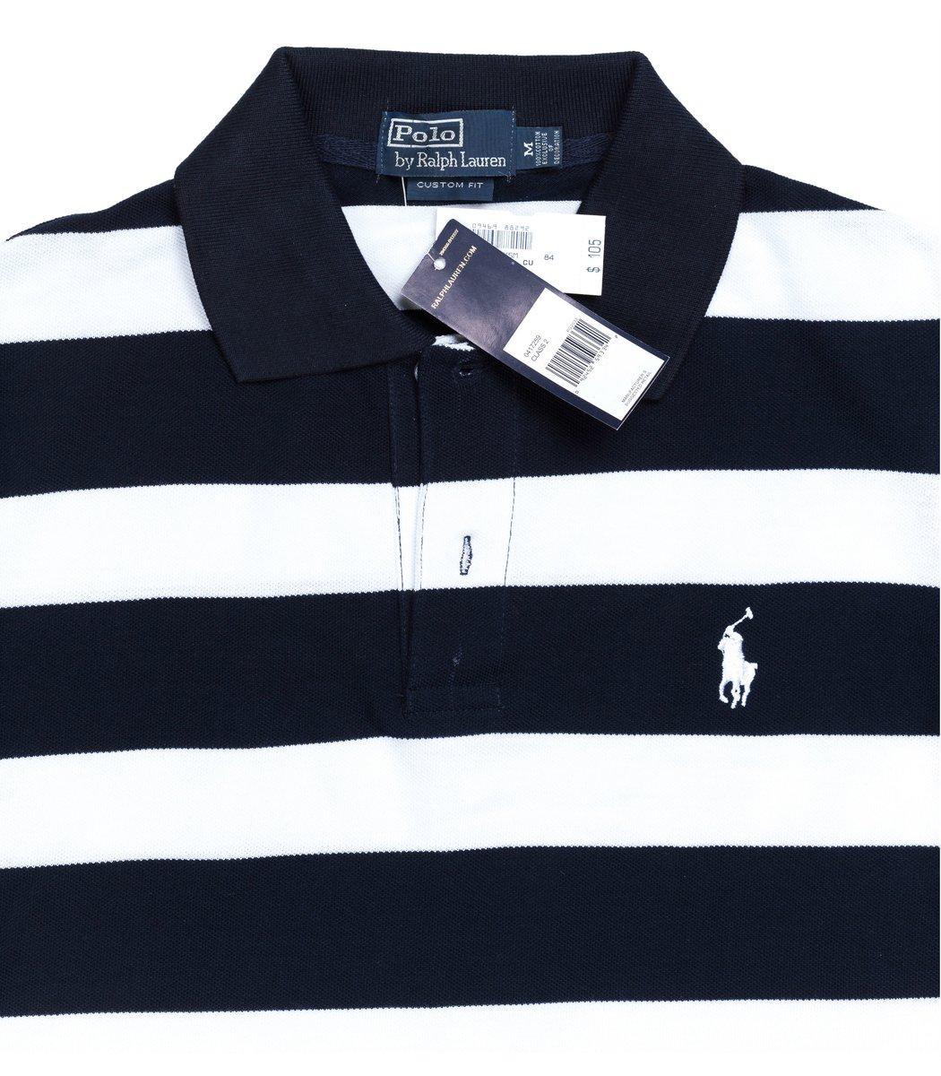 Мужская темно-синяя футболка поло Ralph Lauren R3