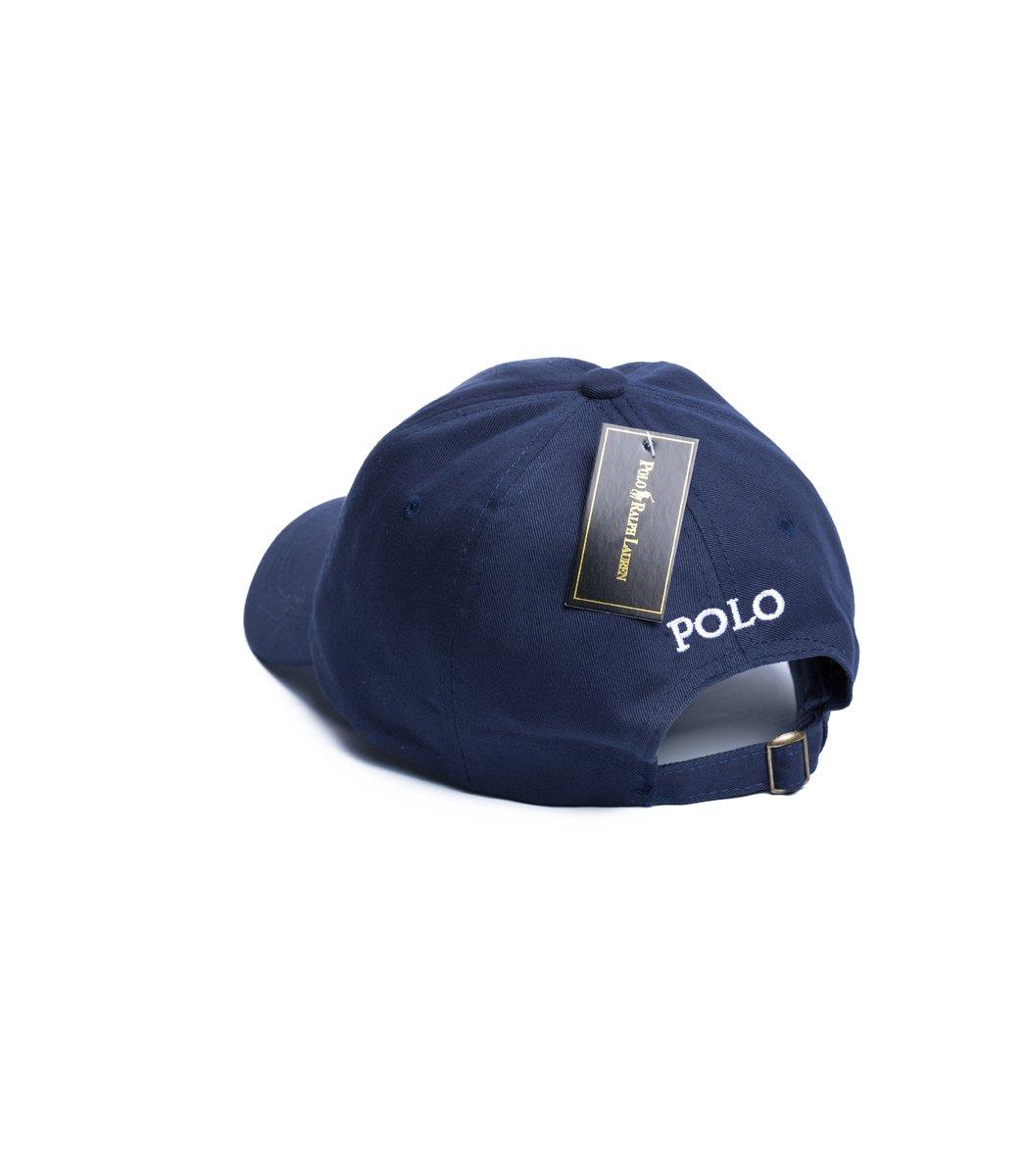 Кепка POLO Ralph Lauren Classic Темно-синий/белый