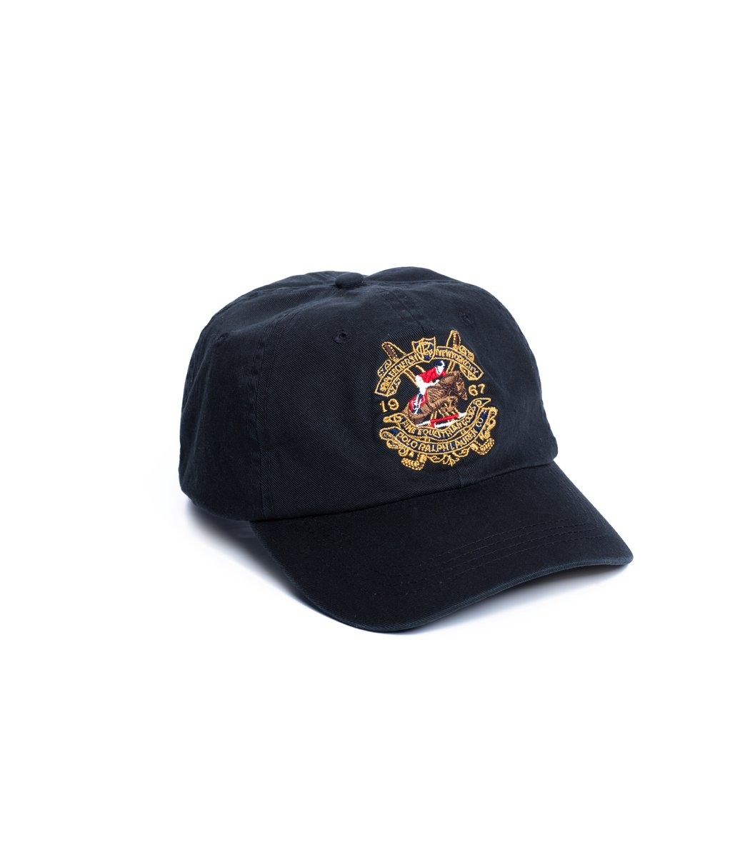 Кепка POLO Ralph Lauren Classic 5 Чёрный