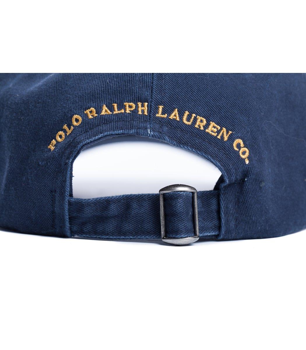 Кепка POLO Ralph Lauren Classic 5 Темно-синий