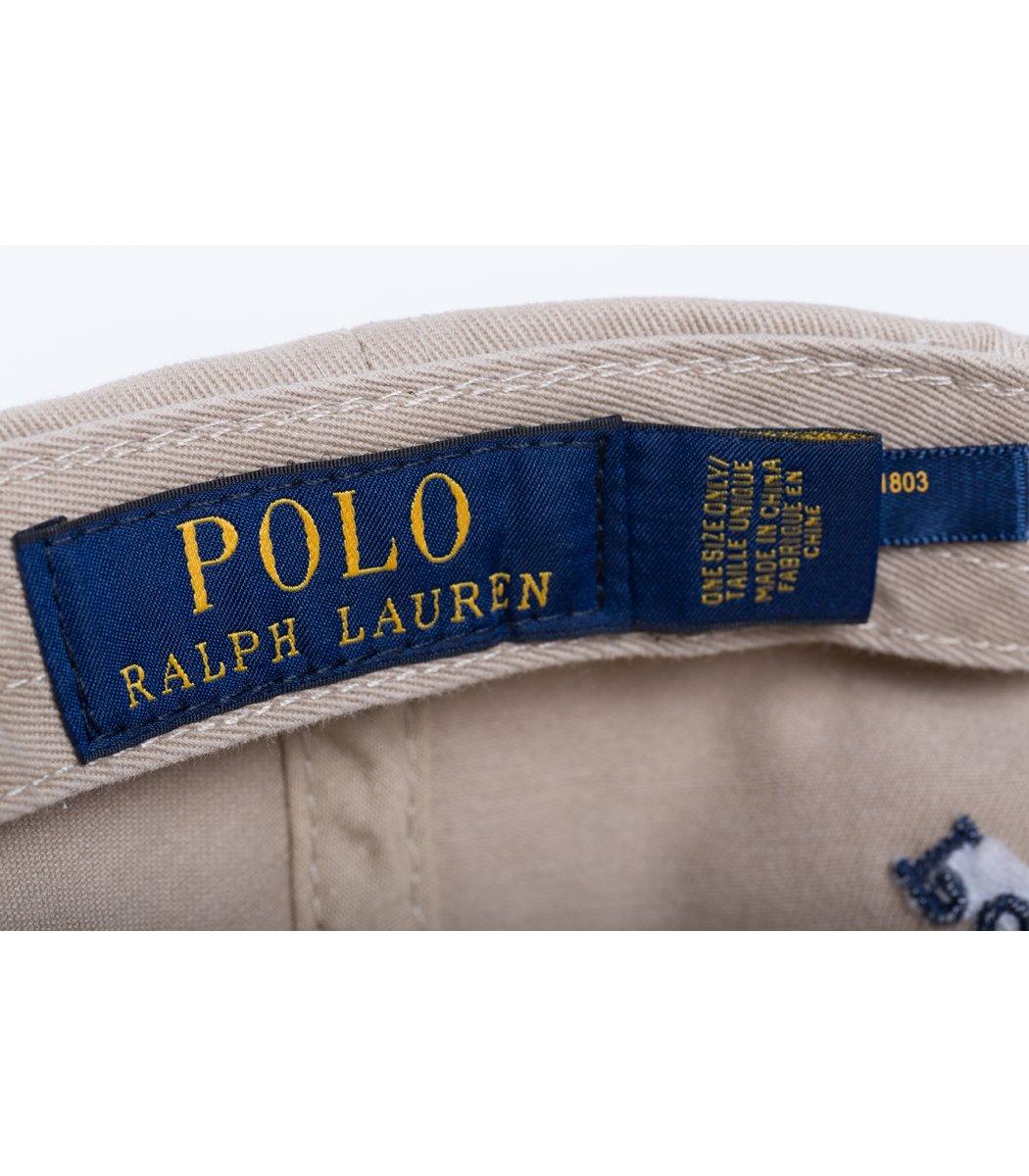Кепка POLO Ralph Lauren Classic 3 Бежевый/синий