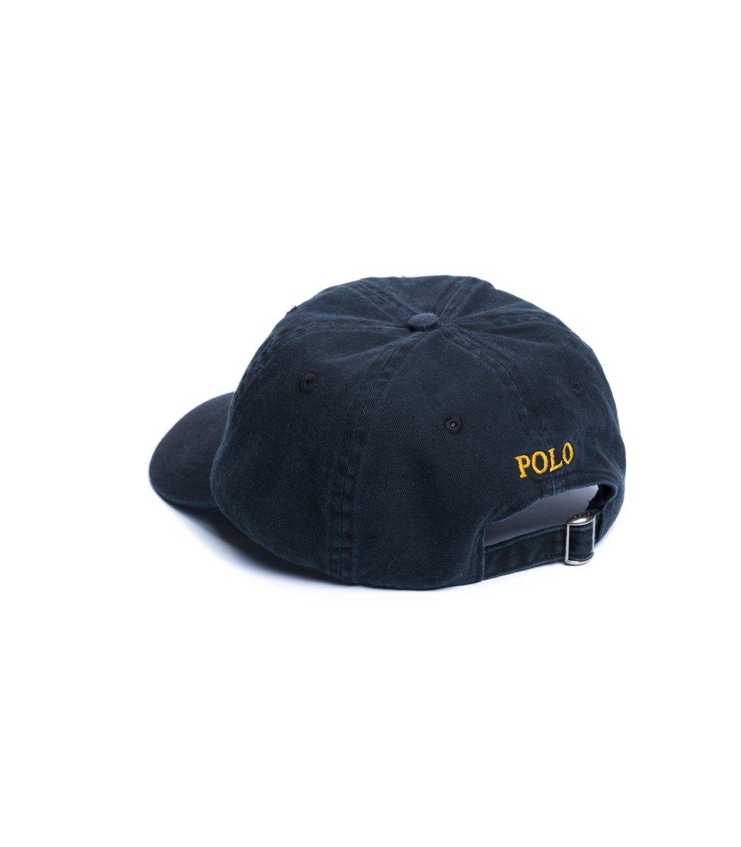 Кепка POLO Ralph Lauren Small logo Синий/желтый