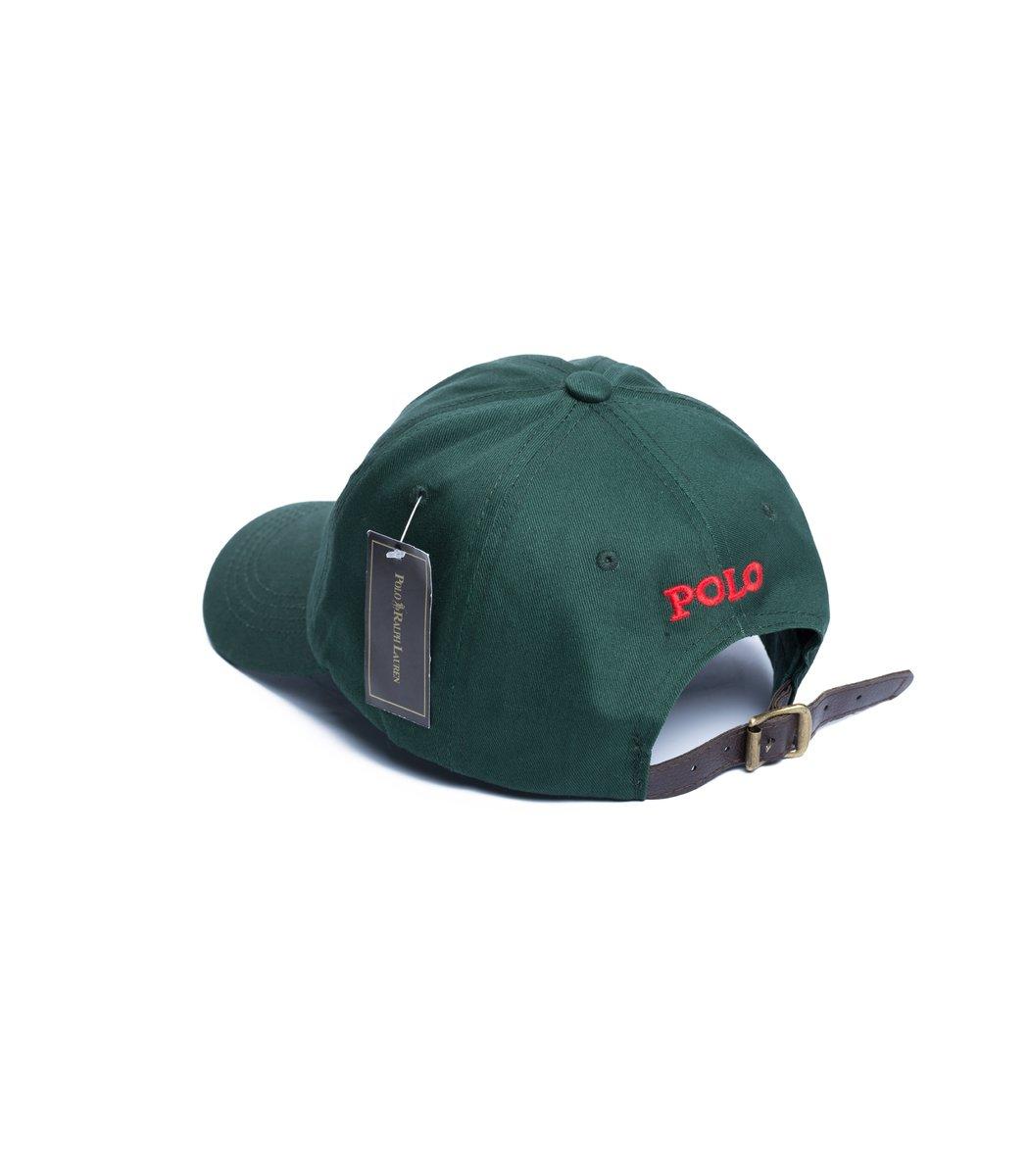 Кепка POLO Ralph Lauren Premiere Зеленый/красный