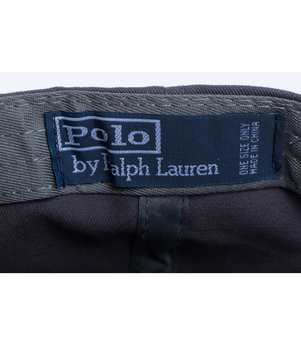 Кепка POLO Ralph Lauren Premiere Темно-серый