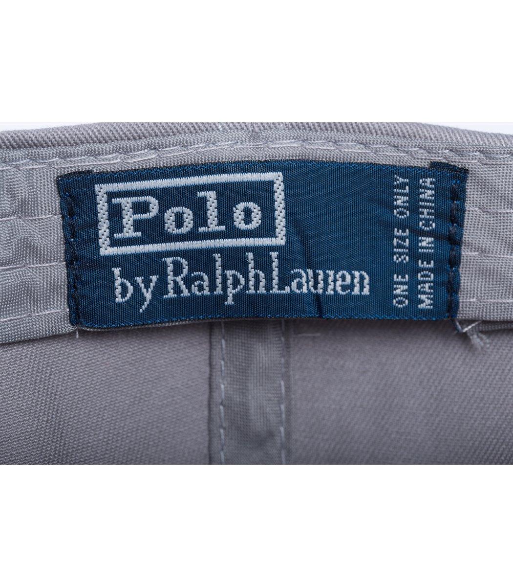 Кепка POLO Ralph Lauren Premiere Cерый/белый