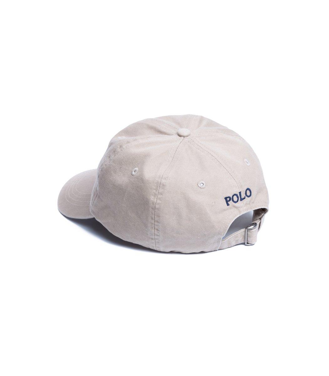 Кепка POLO Ralph Lauren Small logo Бежевый/синий