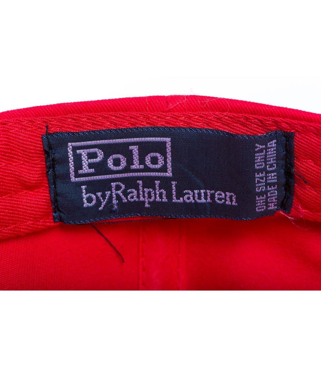 Кепка POLO Ralph Lauren Premiere Красный/синий