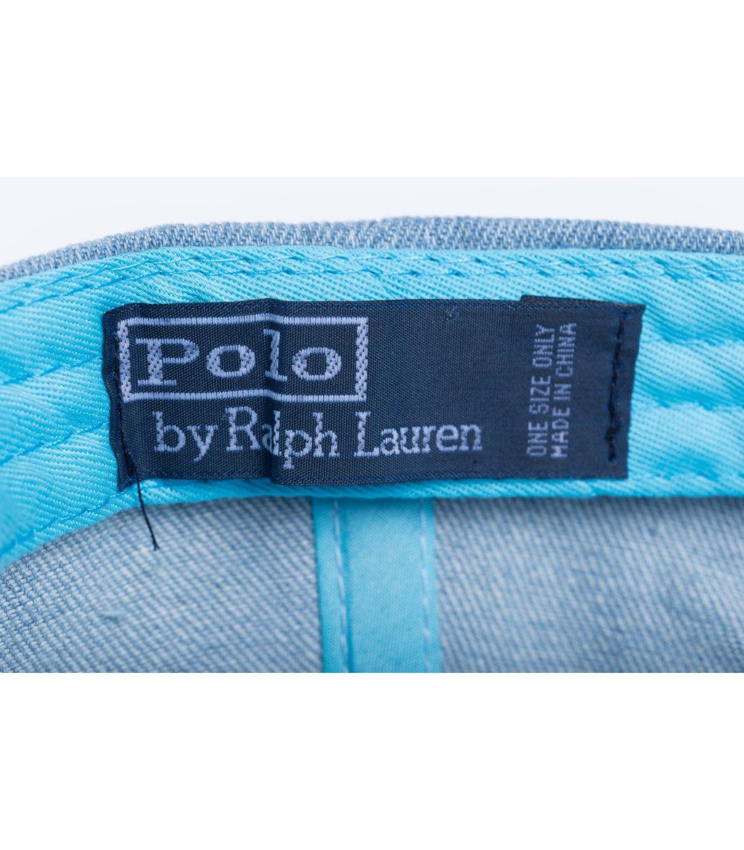 Кепка POLO Ralph Lauren Premiere Голубой/синий