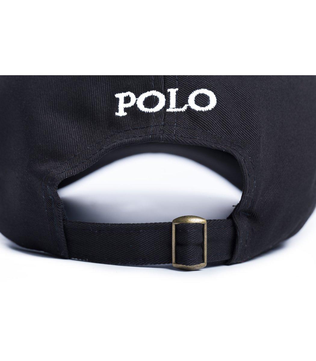 Кепка POLO Ralph Lauren Classic Чёрный/белый