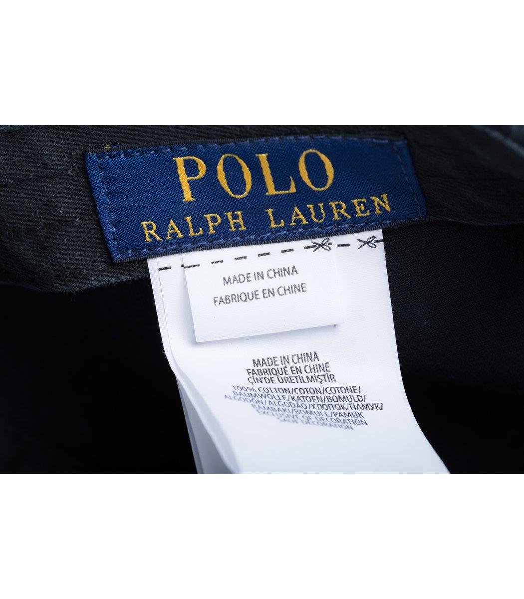 Кепка POLO Ralph Lauren Premiere Черный/красный