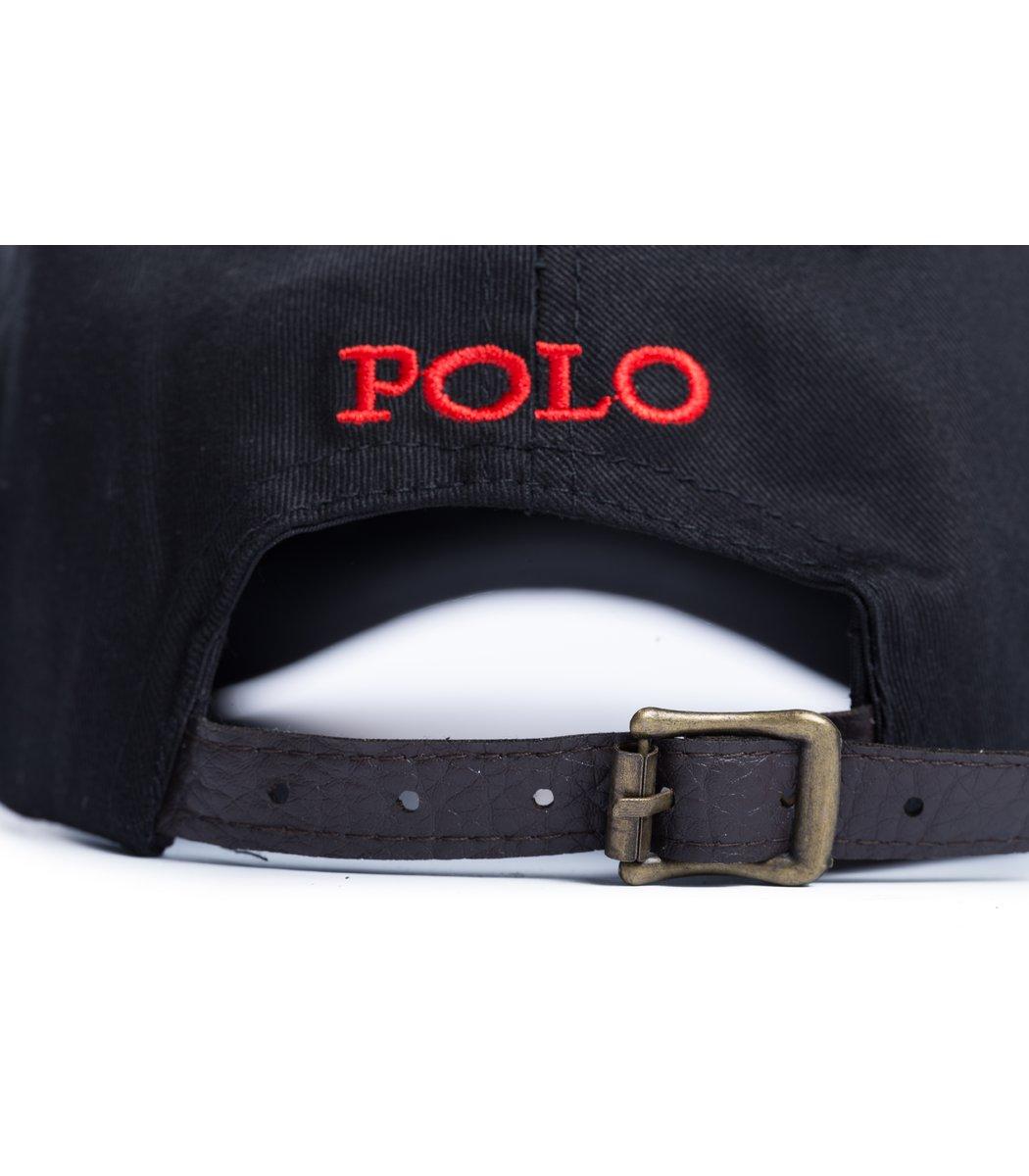 Кепка POLO Ralph Lauren Premiere Черный/красный - Черный - Вид 3