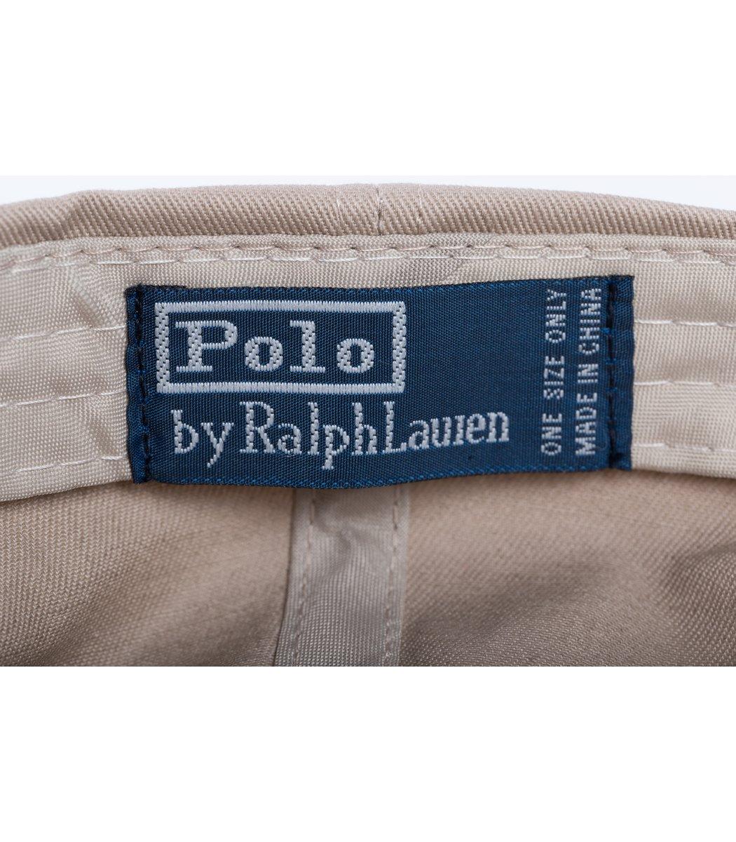 Кепка POLO Ralph Lauren Premiere Бежевый/синий