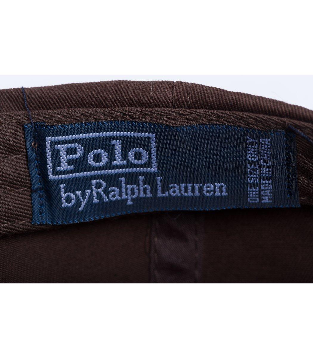 Кепка POLO Ralph Lauren Premiere Коричневый/синий - Коричневый - Вид 4