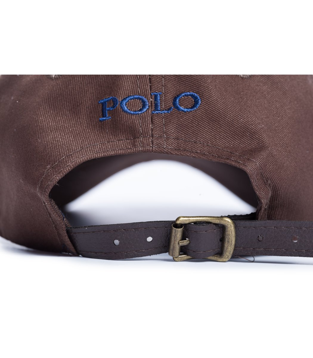 Кепка POLO Ralph Lauren Premiere Коричневый/синий - Коричневый - Вид 3