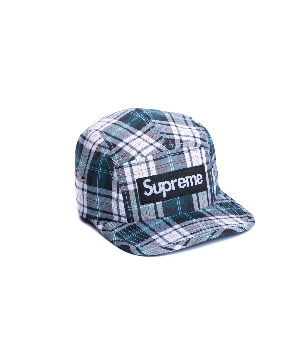 Кепка Supreme Cell (серо-зелёный/чёрный)