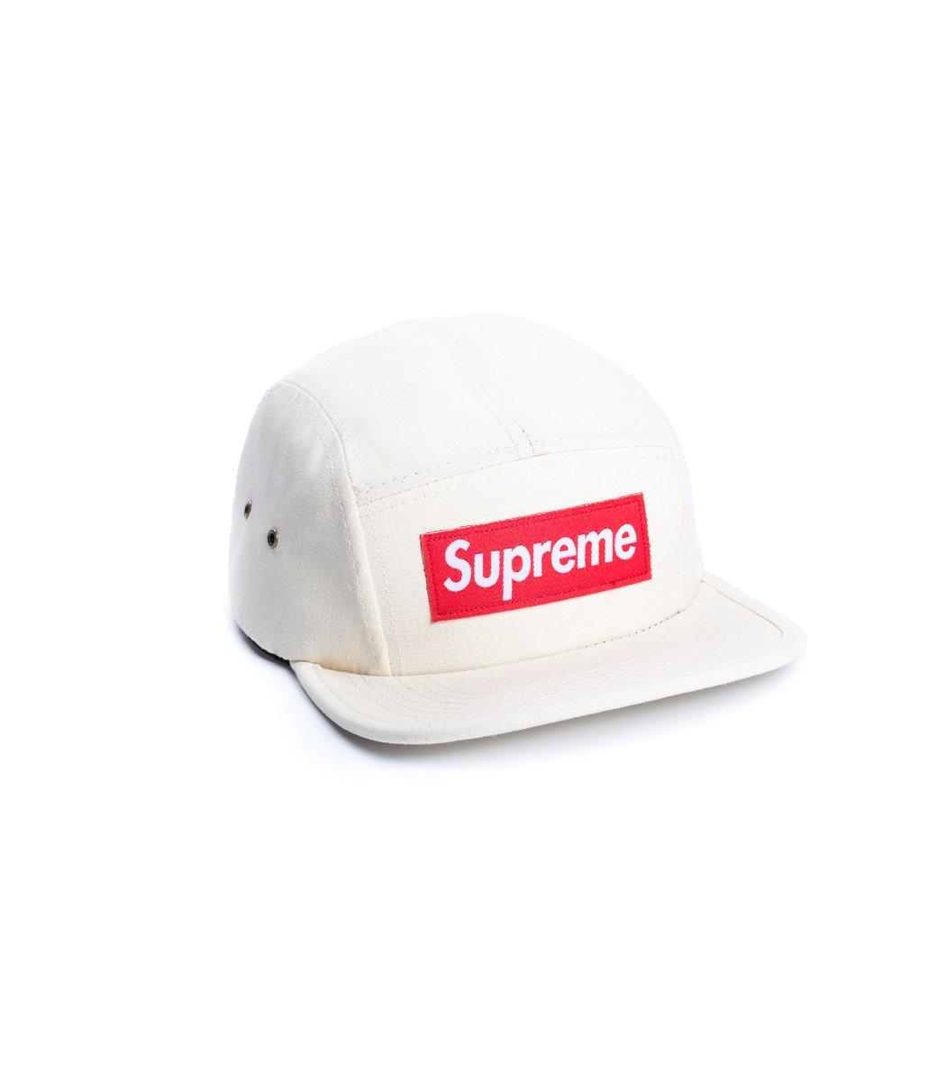 Кепка Supreme Classic (молочный/красный)