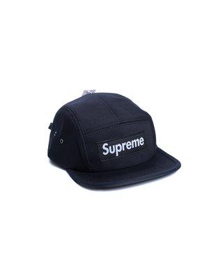 Кепка Supreme Classic (чёрный/чёрный) - Черный - Вид 1