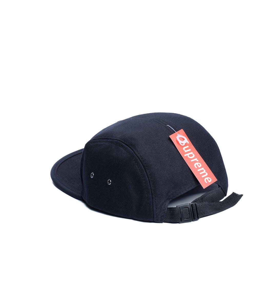 Кепка Supreme Classic (чёрный/чёрный)