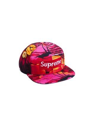 Бейсболка  Supreme Tropic Красный - Красный - Вид 1