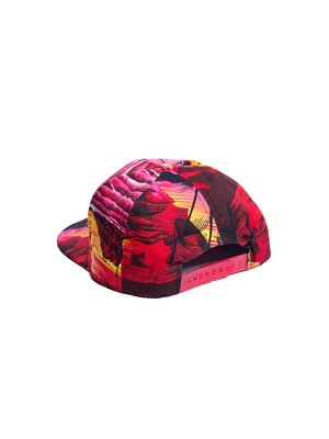 Бейсболка  Supreme Tropic Красный - Красный - Вид 2