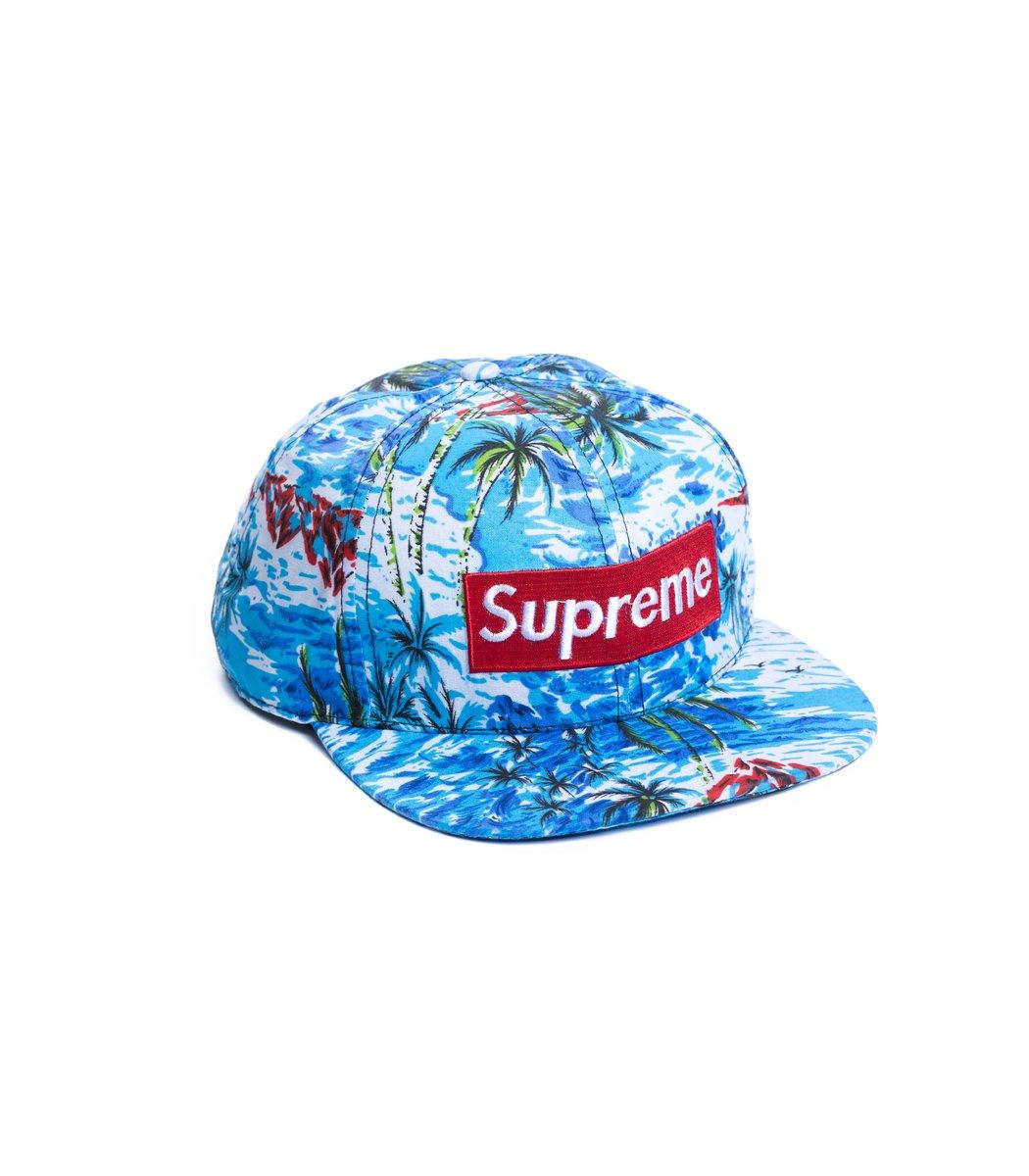 Бейсболка  Supreme Tropic Голубой - Голубой - Вид 1