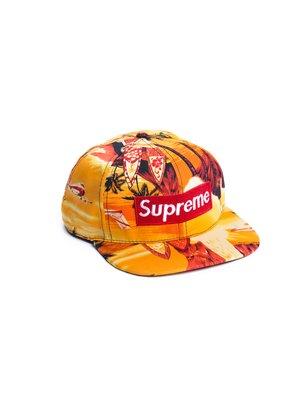 Бейсболка  Supreme Tropic Оранжевый - Оранжевый - Вид 1