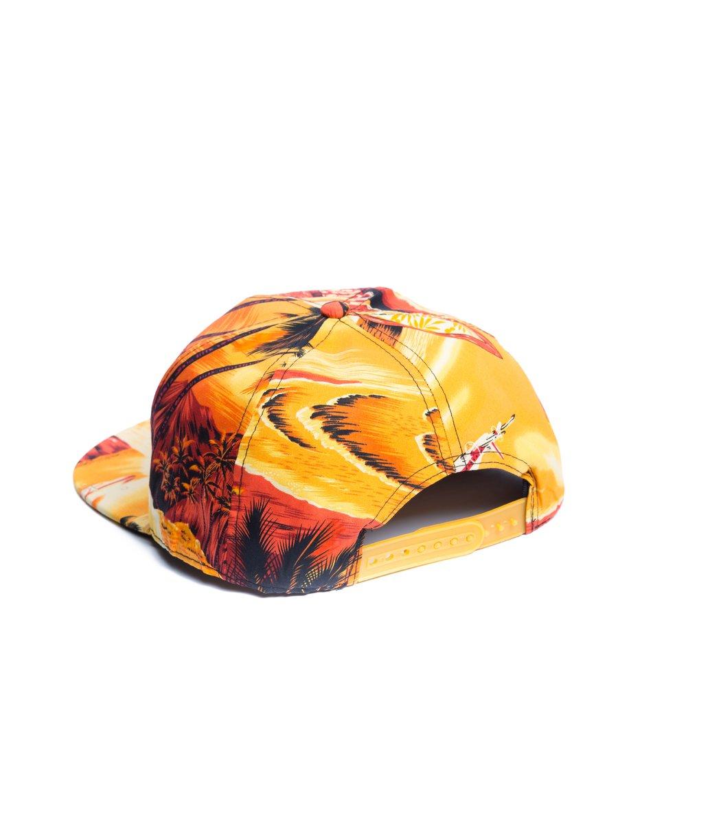 Бейсболка  Supreme Tropic Оранжевый