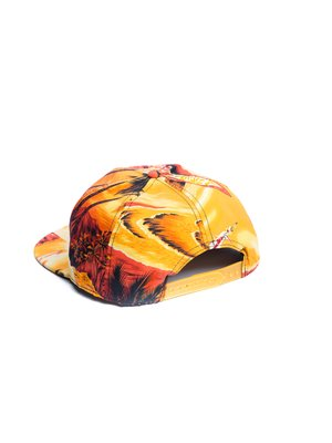 Бейсболка  Supreme Tropic Оранжевый - Оранжевый - Вид 2