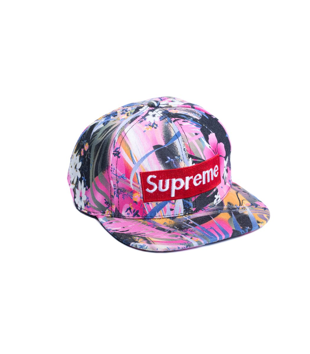Бейсболка  Supreme Tropic Розовый