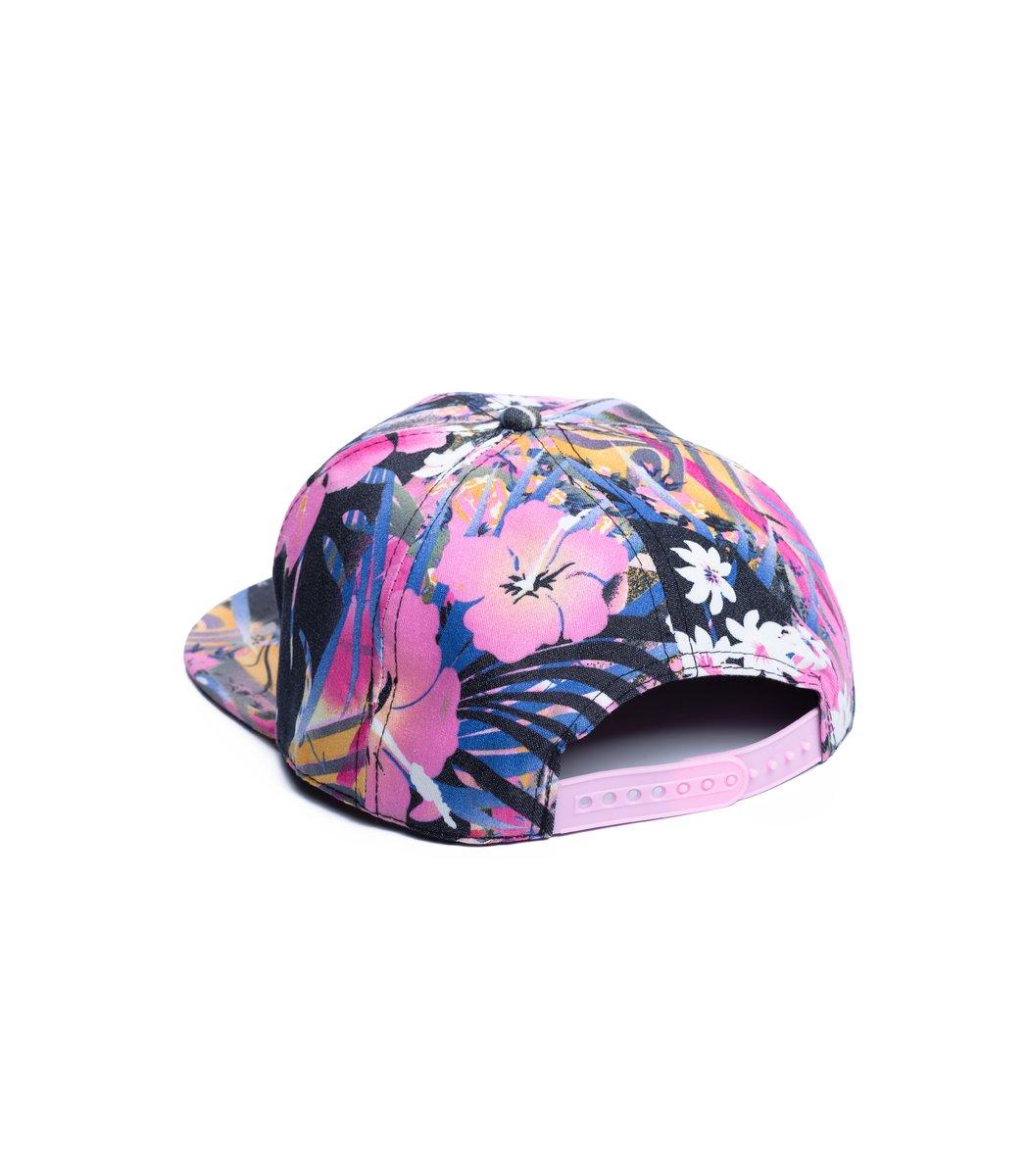 Бейсболка  Supreme Tropic Розовый - Розовый - Вид 2