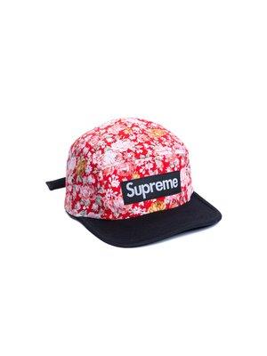 Кепка Supreme Spring (чёрный) - Красный - Вид 1